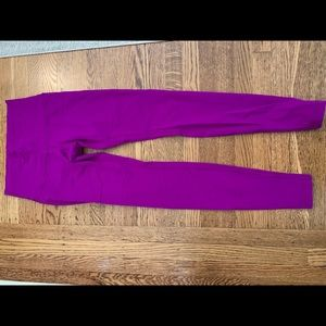 Purple Lululemon Leggings